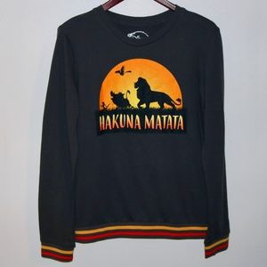 Disney | Lion King Hakuna Matata Sweatshirt Gray